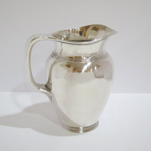 8 in - Sterling Silver Tiffany & Co. Antique Art Deco Water Pitcher