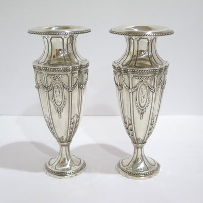 Set Of 2 9 38 In Sterling Silver Bailey Banks Biddle Antique