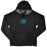 Men's Performance Hoodie - Black - Wireframe