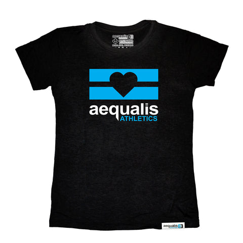 Women's Classic Tee - Black - Equal at Heart