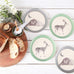 Bamboo 4PK Plates - Bear and Deer
