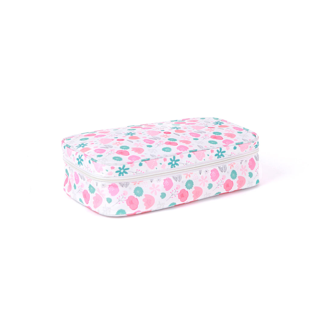 Lunch Bag with Ice Brick (Floral)