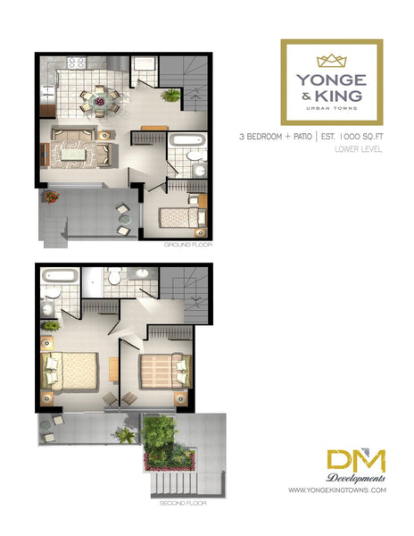 201 King Road: 3 Bedrooms - Type A, Unit 134