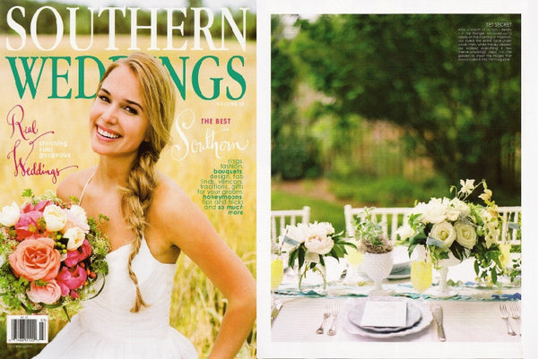 fort & field Southern Weddings Magazine Press inclusion Summer 2011