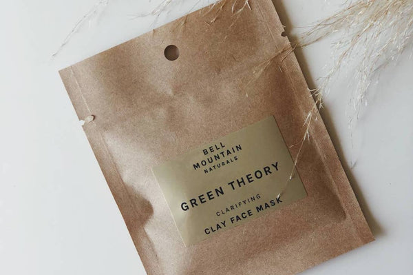 green theory clarifying clay mask