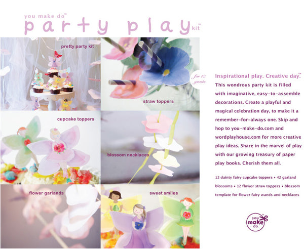 fairy blossom party kit