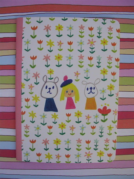 flowers and friendship notebook