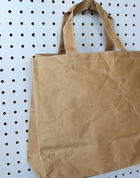 recycled kraft farmers market French shopping bag