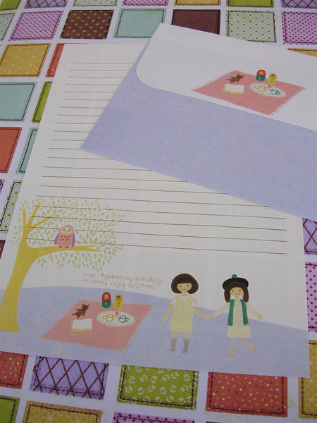 picnic stationery set