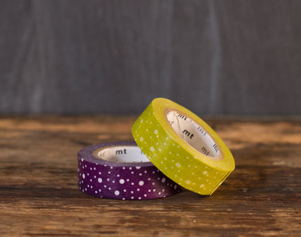 MT Brand random polka dots tape roll