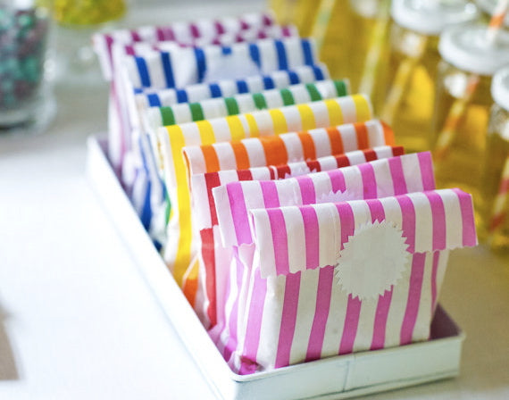 starburst sticker labels