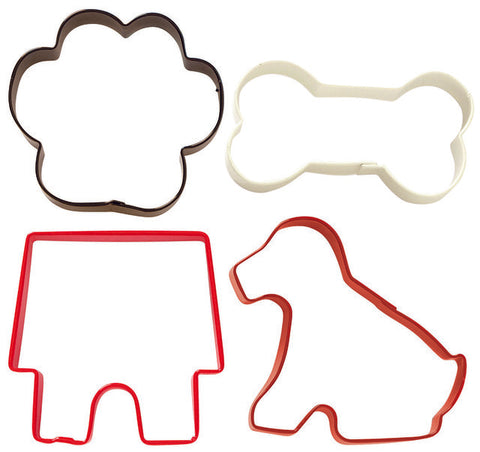 Pets 4pc cutter Set - Cookie Cutter