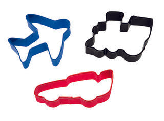 Transportation 3pc cutter Set - Cookie Cutter