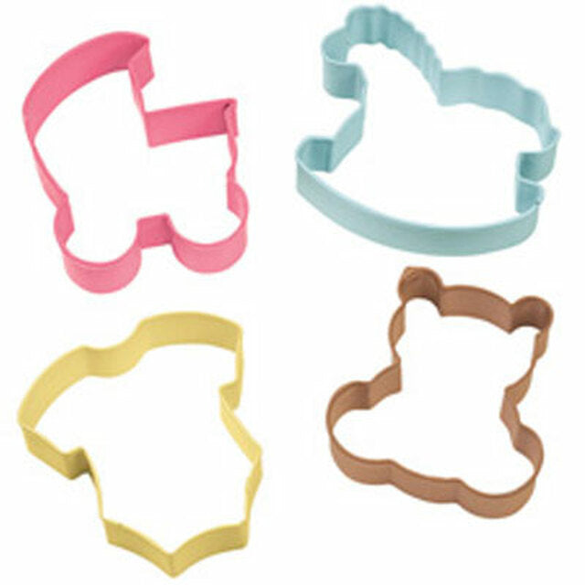 Baby 4pc cutter Set - Cookie Cutter