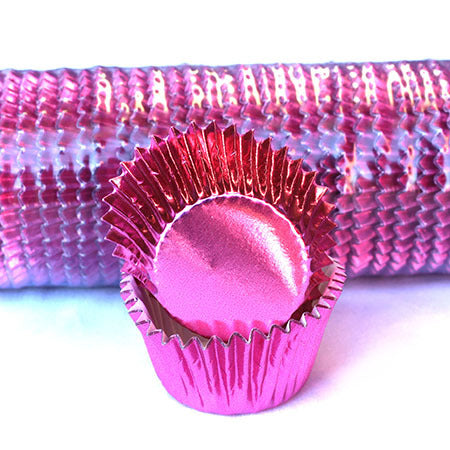Cupcake papers Foil Assorted colours #408 Size