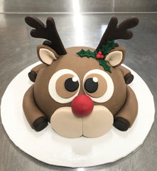 Cake in the box - Rudolph