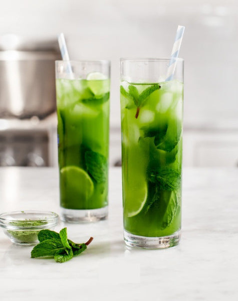 Mint & Matcha Iced Tea