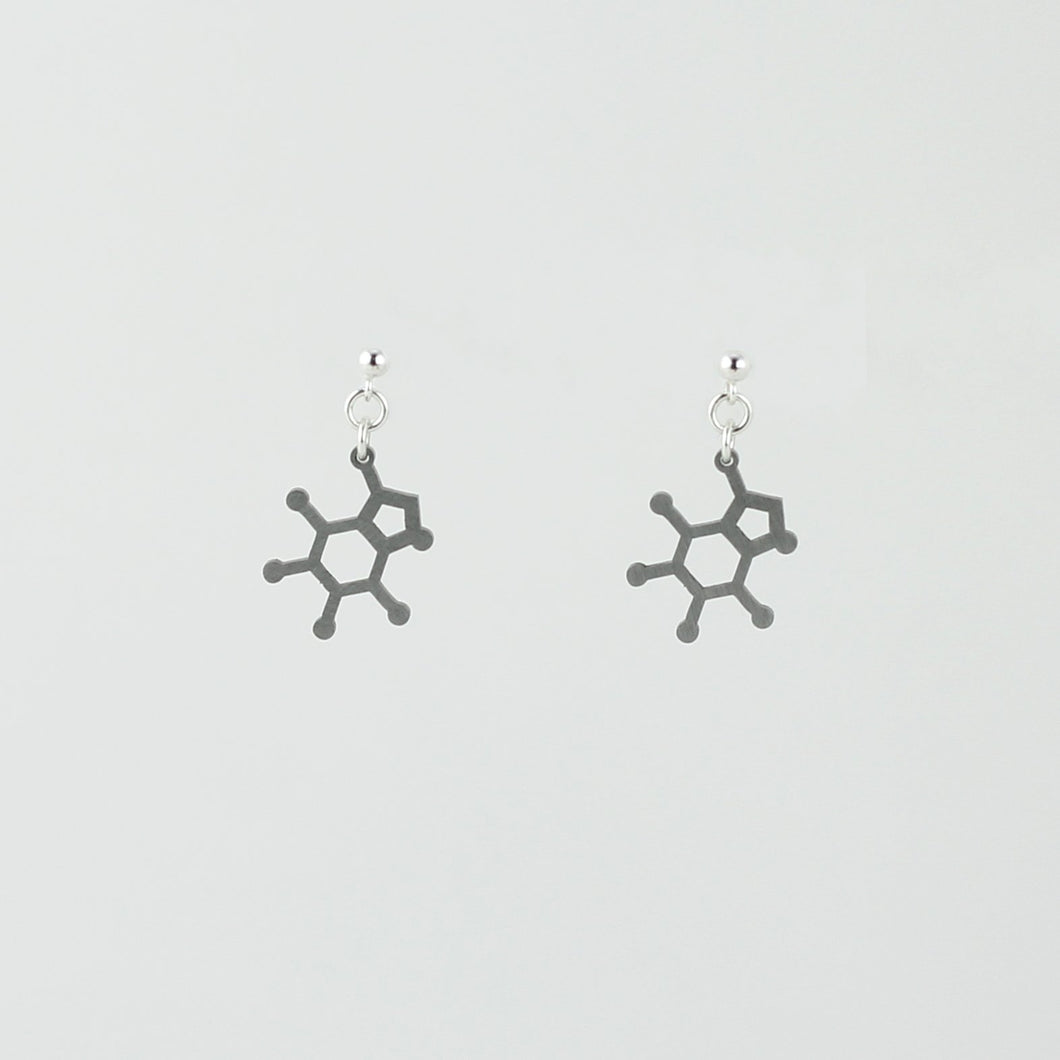 Caffeine Studs in Stainless Steel