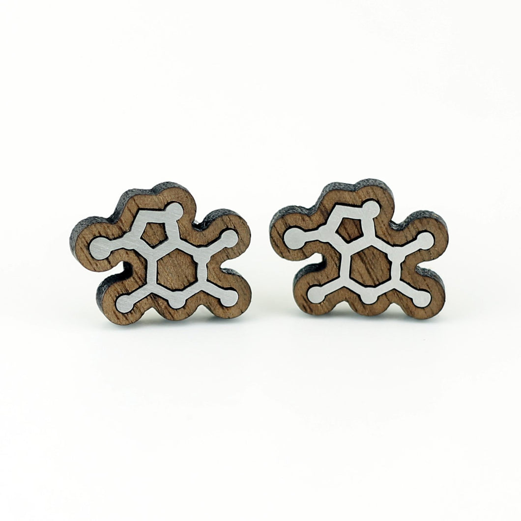 Chocolate Molecule Cufflinks