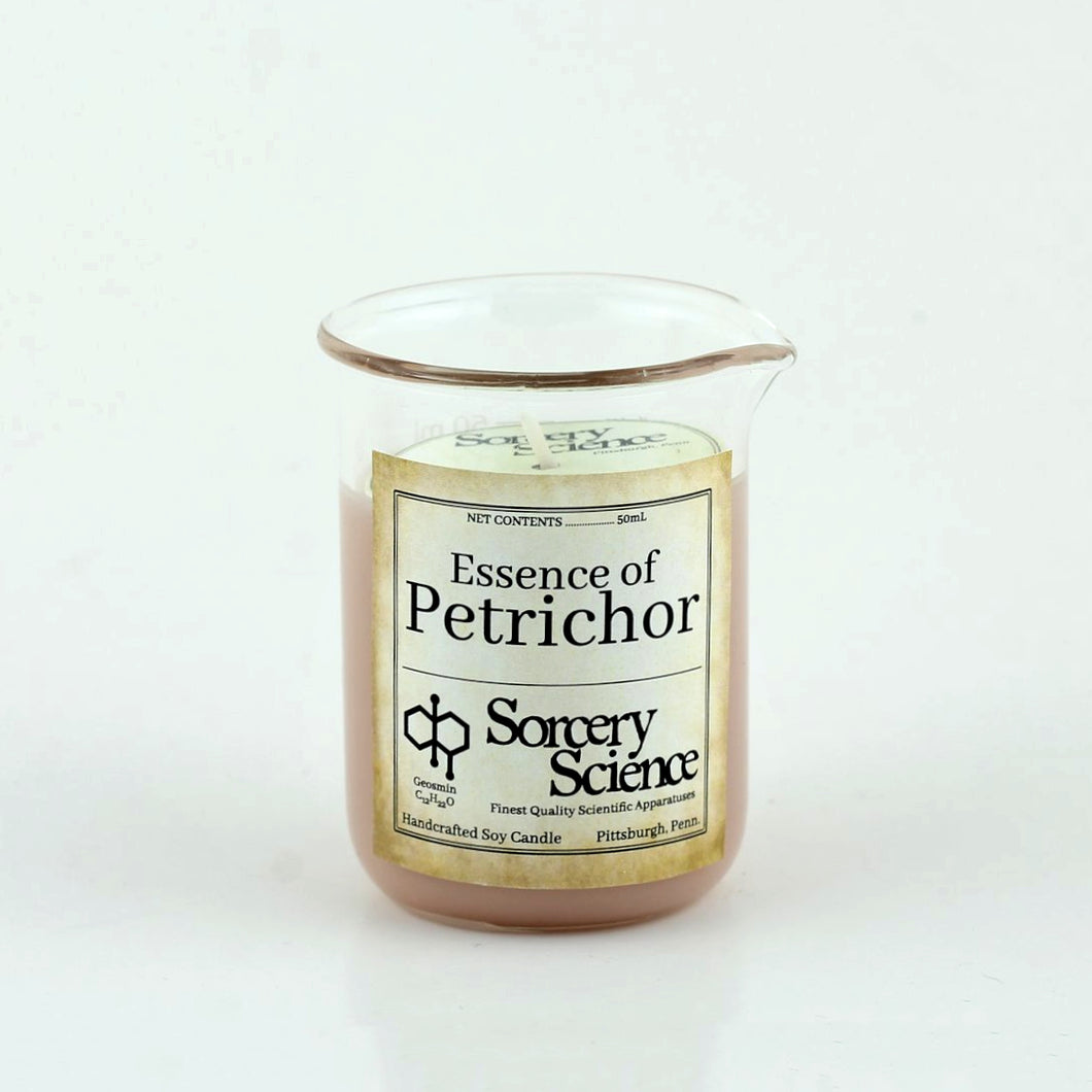 50mL Petrichor-Scented Beaker Candle