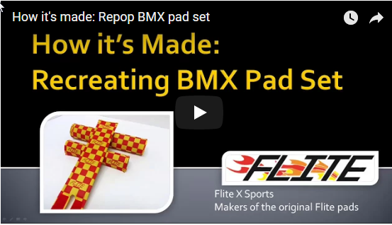Where Can You Get Reproduction BMX Pad Sets?
