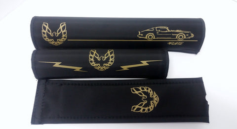 smokey and the bandit inspired bmx pad set