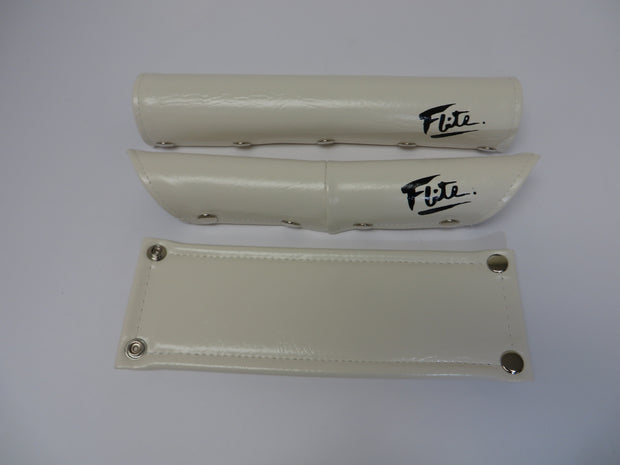Vinyl Snap Closure 3 Piece BMX Padset