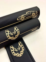 Bandit black gold bmx pad set by Flite