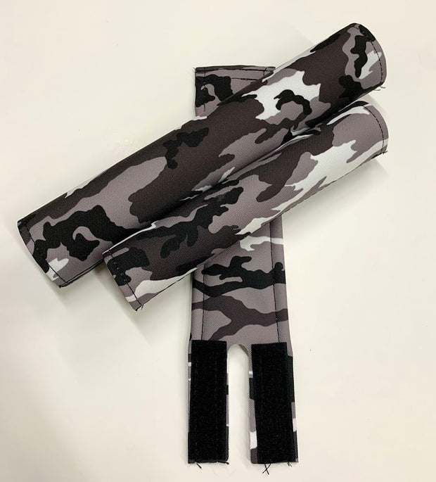 Flite winter camoflauge bmx pad set