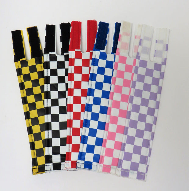checkerboard stem pad long by Flite BMX