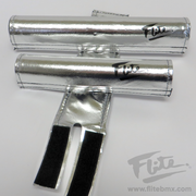 80's Logo Chrome Flite BMX Pad Set