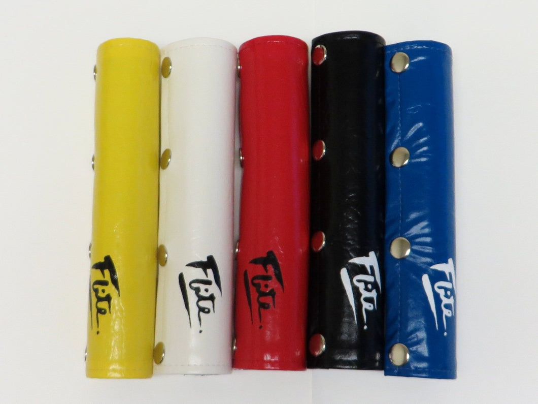 Straight Vinyl Snap with Flite 80's Logo BMX Pad - Handlebar pad only - 5 colors!