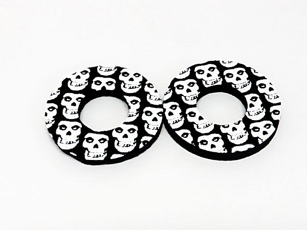 BMX MX Donuts Skulls Black White