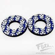 Flite Skull Grip Donuts Blue and White