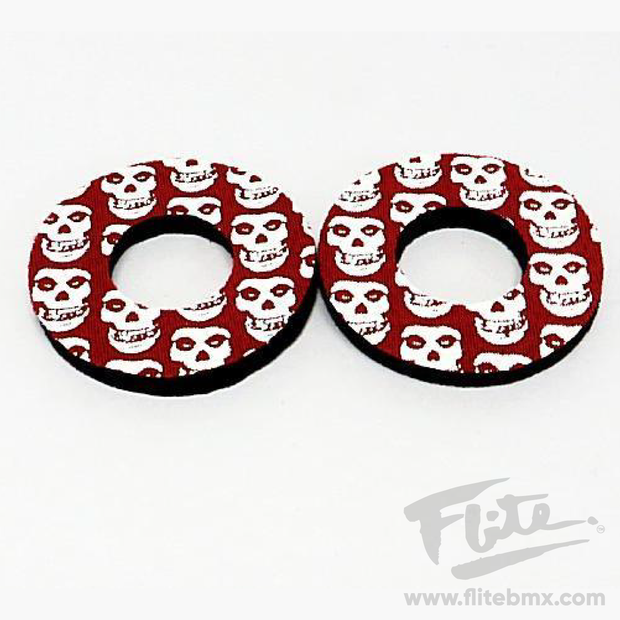 Flite Skull Grip Donuts Red and White