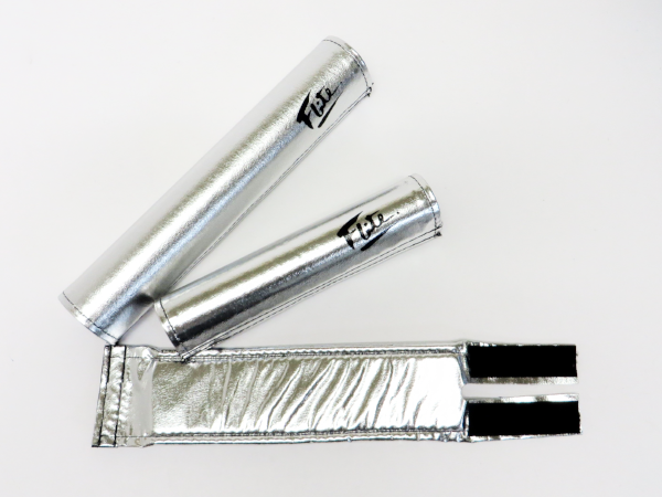 Flite chrome logo bmx pad set