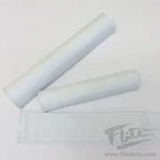 Blank White BMX Pad Set