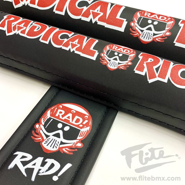 Radical Rick 40 Years of RAD! BMX Padset