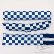 Classic Checkers V-Bar BMX Pad Set