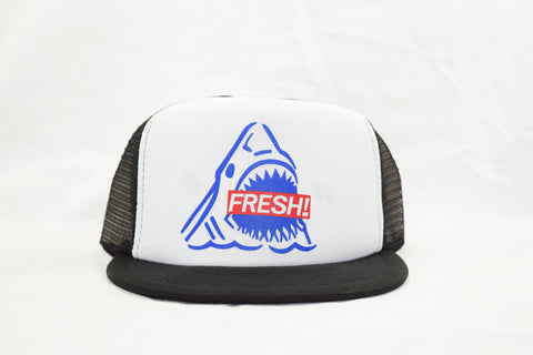 Fresh Sharks Trucker Cap