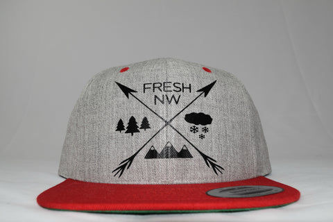 Fresh Airrows Snapback