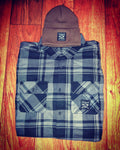 Flannel & Beanie Combo #2