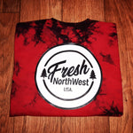 Crystal Dyed Fresh N.W. Badge Tee