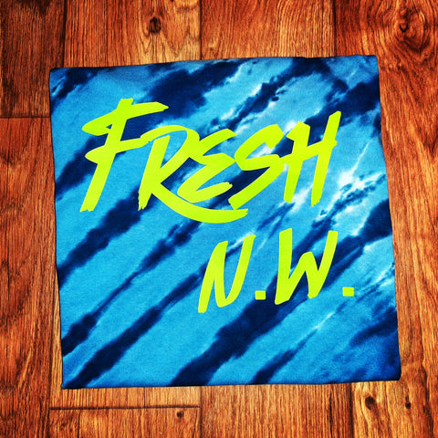 Fresh N.W. Tiger Dyed Tee