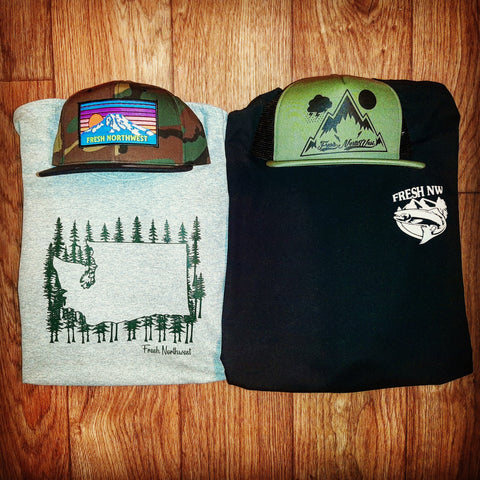 Washingtonian Hat N Shirt Pack