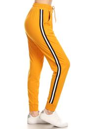 Yellow Stripe Joggers