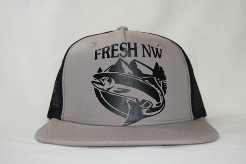 Fresh Fish Trucker Cap