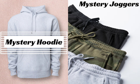 Mystery Hoodie And Joggers Combo