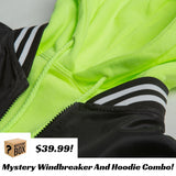 Mystery Windbreaker And Hoodie Combo