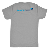 Radikal Darts - Premium Triblend Tee - Back Logo Placement